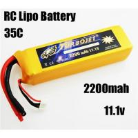 11.1v 2200mah 35c Lithium Polymer Battery for RC airplane,RC car,RC boat,good quality Manufactures