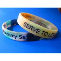 Colorfilled Silicone Bracelet Manufactures