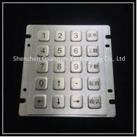 Vandal Proof Personalized Keyboard 9 Pin 20 Keys Type Stainless Steel Material Manufactures