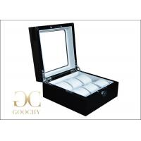 China Wooden Watch Display Case for 6 Cartier Watches Gift Box for Business Gifts on sale