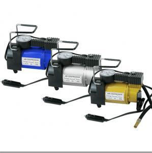 Quality Metal Car Portable Air Compressor DC12V Tire Inflator , 150psi 12v Air for sale