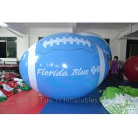China School Sports Meeting Custom Shaped Balloons Rugby Shape 1M Diameter on sale