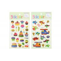 China Offset Kids Sticker Printing Personalised , Hot Stamping Sticker Printing Services on sale