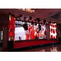 Quality Entertainments Usage P6 LED Video Wall For Rental Markets Adjustable Speed for sale