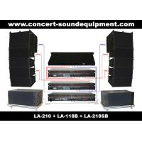 """Dual 10"""" 480W Line Array Speaker With Neodymium Drivers Manufactures"""