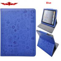 Elegant Embosed Ipad 1 Ipad Air PU Leather Cover Cases Support Smart Sleep/Wake Up Manufactures