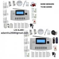 Buy cheap LCD Security Alarm System WIRELESS and WIRE ALARM COMPATIABLE HOME ALARM FIRE from wholesalers