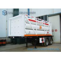 Quality High Performance 12 Tubes Containe CNG Tank Trailer ISO11120 / BV for sale