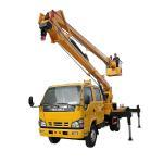 14-16m Aerial Platform Working Truck , Overhead Working Truck 4X2 Manufactures