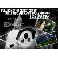 Outdoor High Definition IP Camera IR distance with IP66 Waterproof Manufactures