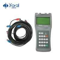 Mini Ultrasonic Flow Transmitter , Non Intrusive Flow Meter For Water Flow Measurement Manufactures