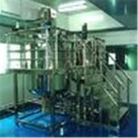 1500L / 2000L Stainless Steel Shampoo Mixer Blending Tanks Cosmetic Making Machine Manufactures