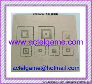 PSP2000 BGA Stencil PSP2000 repair parts Manufactures
