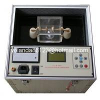 China Dielectric strength oil tester, Transformer oil testing set, Insulating oil BDV tester on sale