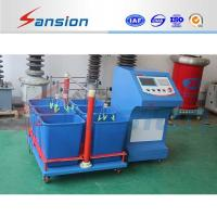 Leakage Current High Voltage Testing System For Rubber Insulating Gloves Manufactures