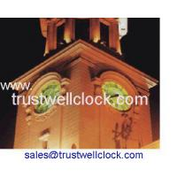 China four 4 faces clocks tower with GPS Synchronization -    Good Clock(Yantai) Trust-Well Co.,Ltd on sale