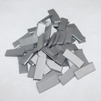YG15 YG8 YL10.2 Custom Tungsten Carbide Parts , Agricultural Carbide Welding Inserts Manufactures