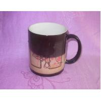 China Best Simple Decor Solid Color Glazed Color Changing Ceramic Mugs Wholesale on sale