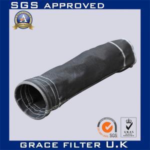 High Efficiency Air Fiberglass Filter Bags , Non Woven Filter Media Bags Manufactures