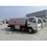 Dongfeng Duolika 4x2 small gasoline/petrol/oil/fuel tank truck, 5000l fuel tank truck for Manufactures