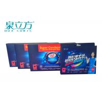 Travel Washing Powder Sheets For Cotton Clothes , Washing Powder Sheets For Cleaning Silk Manufactures