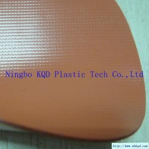 1050 gsm Orange PVC Oil Fence Fabric Manufactures