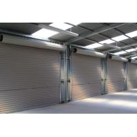 Perspective Ventilation Security Roller Shutters , Baking Paint Stainless Steel Shutters Manufactures