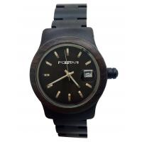 PSD-8030 Simple Customized Quartz Chronograph Watch With Leather Band Manufactures