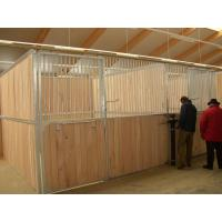 China European-style Horse Stall Fronts Hot Dip Galvanized With Swing Feeder on sale