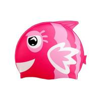 Eco - Friendly Fun Design Kids Swim Hat , Cute Swim Caps For Children Manufactures