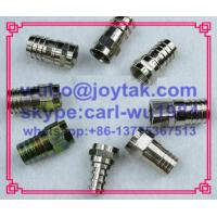 F male crimp connector for RG59 RG6