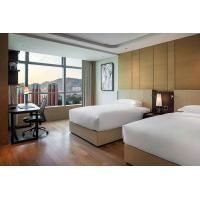 Star Resort / Commercial Modern Hotel Wood Bedroom Furniture Plywood With Veneer Material Manufactures