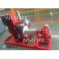 diesel engine DRIVER 750usGPM@81M   END SUCTION Pump set  Ul Listed with jockey Manufactures