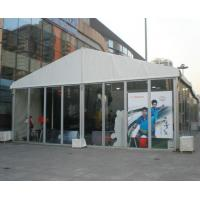 China Flame Retardant DIN4102 B1 10M Outdoor Event Tent With White PVC Roof Cover on sale