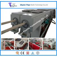 PVC Two Pipes Conduits Pipe Extrusion Machine PVC Conduits Making Machinery Cost Manufactures