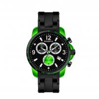 Quality Fashion Sport Men Silicone Strap Watches Multifunction With Alu Case for sale