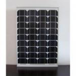 50W Mono-crystalline silicon solar panel Manufactures