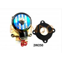 2W250 Solenoid Valve Diaphragm For Industrial Water Treatment / Wastewater Discharge