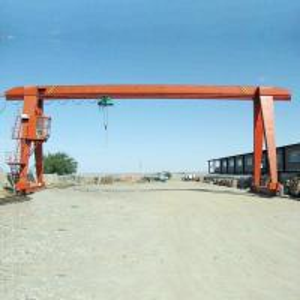 China Outdoor Steel Structure Portal Gantry Crane , Handling Stone Heavy Duty Gantry Crane on sale