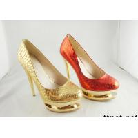 China 2012 The Newest Bright Silver Rhinestones High Heel Lady Shoes on sale