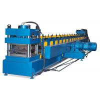 China Heavy Highway Guardrail Roll Forming Machine , Crash Barrier Highway Guardrail Roll Forming Machine on sale