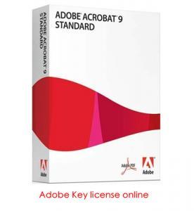 China Adobe Acrobat Standard 9 , Adobe Photoshop Product Key on sale