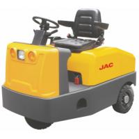 Full AC Electric System Electric Tow Tractor Platform Truck Easy Operation Manufactures