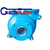 Quality 4/3 D AH Centrifugal Slurry Pump , Mining Horizontal Centrifugal Slurry Pump for sale