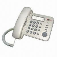 Basic Slimline Corded Speaker Telephone with Speed Dial, LED Indicator, SD Card Recording/Answering Manufactures