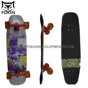 xinda factory Foxen supply Longboard Silver Bird 32.35 7 layers canadian Drop Down skateboard Manufactures