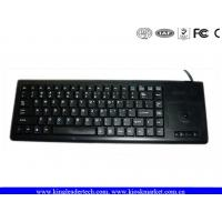China Black ABS Plastic Industrial Keyboard Laser - etched with Magnetic Strip Reader on sale