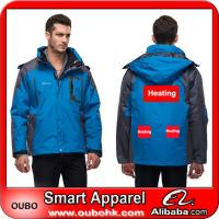 Men's Jacket With Battery Heating System Electric Heating Clothing Warm OUBOHK Manufactures