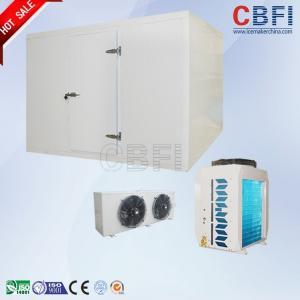 China Sliding Door / Swing Door Commercial Walk In Freezer , Laboratory Cold Room Strong Anti - Deformation on sale