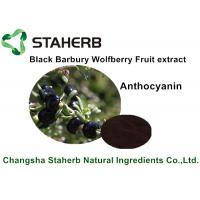 Black Barbary Wolfberry Fruit Extract , Natural Food Ingredients For Beverage Manufactures